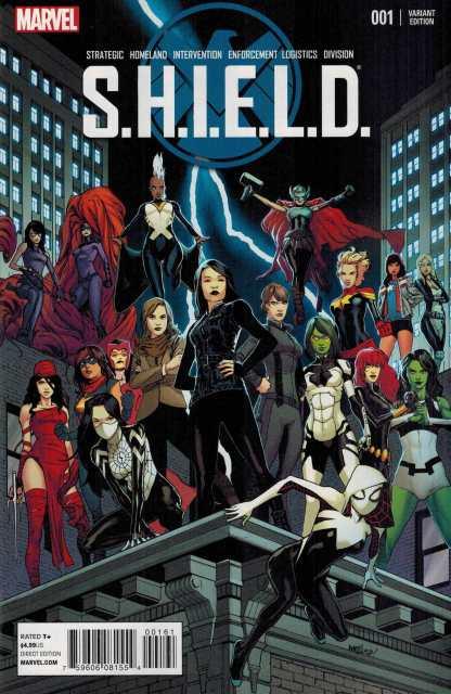 SHIELD #1 1:25 Marquez Young Guns Variant Marvel 2014
