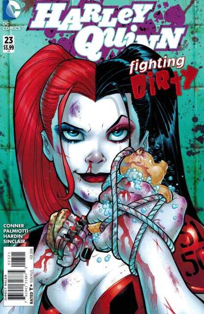 Harley Quinn #23 1:25 Amanda Conner Incentive Variant DC New 52