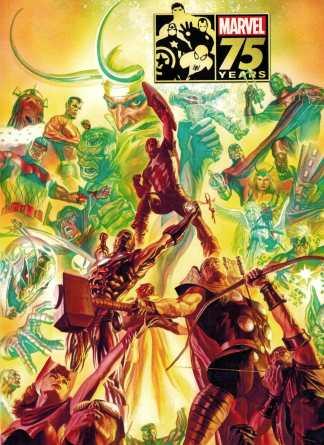 Marvel 75th Anniversary Magazine Alex Ross Avengers Variant 2014 HTF
