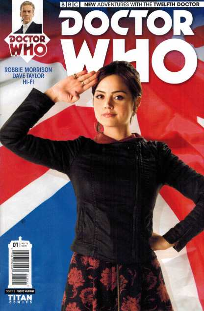Doctor Who 12th Doctor #1 1:25 Photo Variant Cover E Titan Comic
