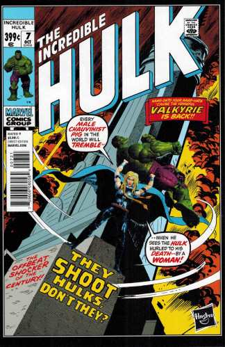 Hulk #7 1:15 Hasbro Variant ANMN Marvel Legends