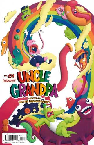 Uncle Grandpa #1 Cover B Sold Out Kaboom