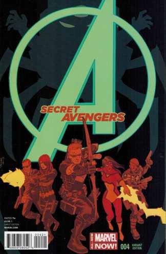 Secret Avengers #4 1:25 Declan Shalvey Variant ANMN