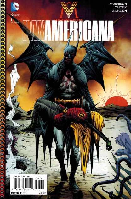 Multiversity Pax Americana #1 1:25 Jae Lee Variant DC 2014 Grant Morrison