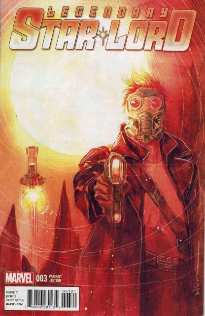 Legendary Star-Lord #3 1:25 Ngyuen Variant Marvel Guardians