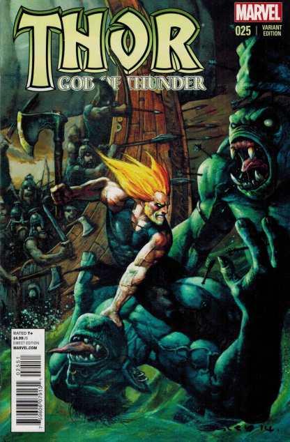 Thor God of Thunder #25 Simon Bisley Variant