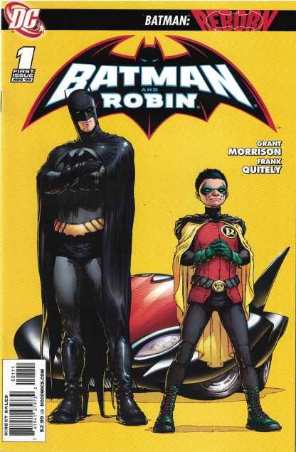 Batman and Robin #1 Frank Quitely 1st Print DC 2009