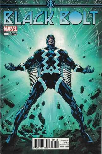 Black Bolt #1 1:15 Butch Guice Variant Marvel 2017 Inhumans
