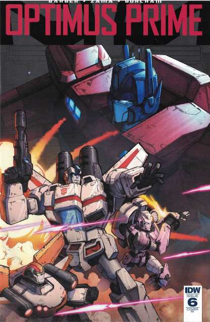 Optimus Prime #6 1:10 Jin Kim RI Variant IDW 2016