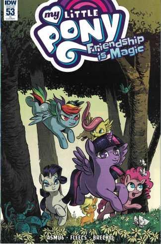 My Little Pony Friendship is Magic #53 1:10 Christine Larsen RI Variant IDW