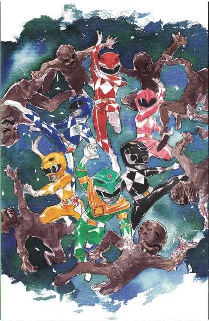 Mighty Morphin Power Rangers #1 1:100 Dustin Nguyen Variant Boom 2016
