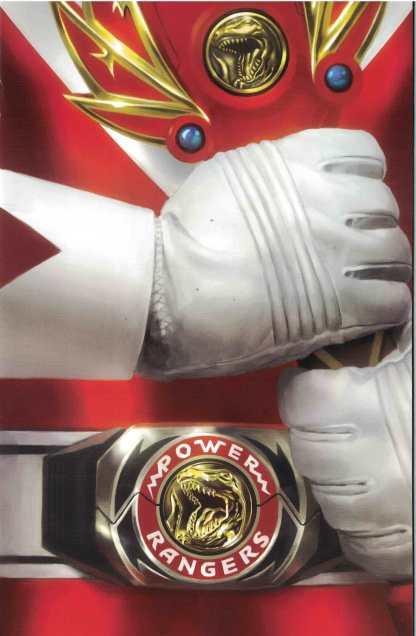 Mighty Morphin Power Rangers #17 1:50 Miguel Mercado Morph Variant Boom
