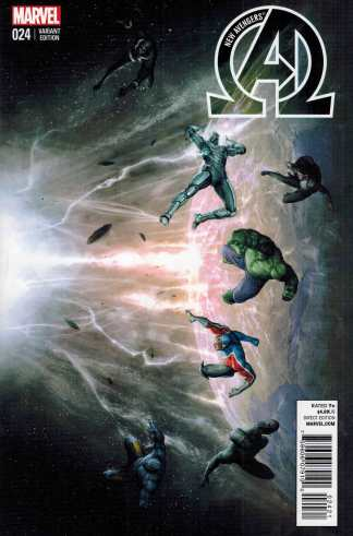 New Avengers #24 NOW 1:10 Alessio Connecting Variant
