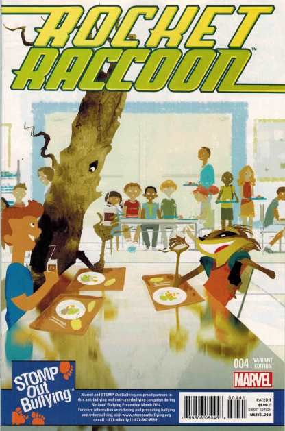 Rocket Raccoon #4 Stomp Out Bullying Variant