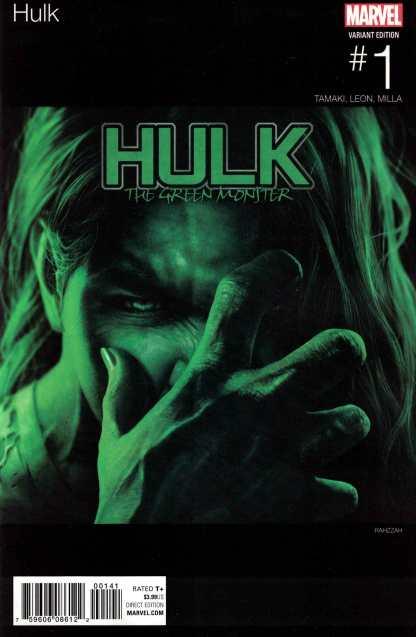 Hulk #1 Razzah Hip Hop Variant NOW Marvel 2016 Gray She-Hulk