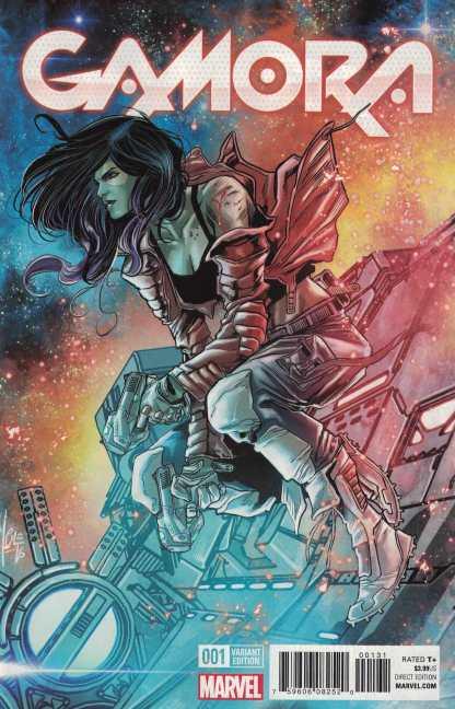 Gamora #1 1:25 Checchetto Variant NOW Marvel 2016 HTF RARE Guardians Galaxy