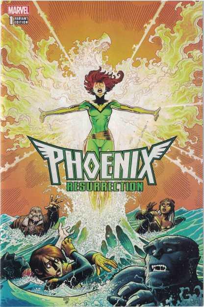 Phoenix Resurrection #1 1:50 Arthur Adams Variant Marvel 2017 Jean Grey