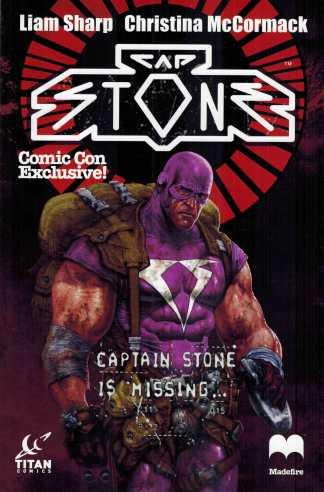 Cap Stone #1 New York Comicon Exclusive Variant Titan Comics NYCC