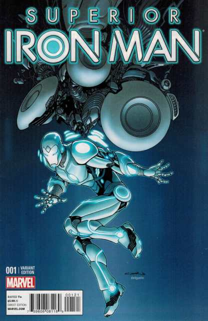 Superior Iron Man #1 1:25 Cinar Variant