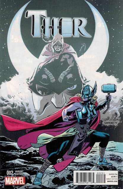 Thor #2 1:25 Chris Samnee Variant Cover ANMN 2014 Jane Foster