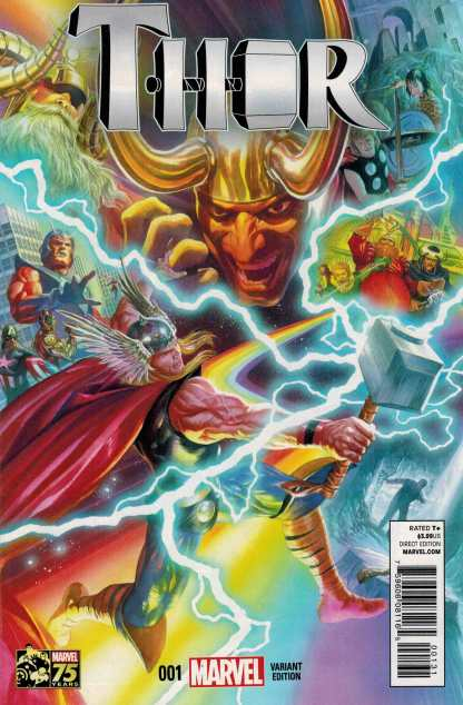 Thor #1 1:75 Alex Ross Color Variant ANMN