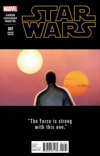 Star Wars #1 1:25 John Cassady Teaser Variant Marvel 2015