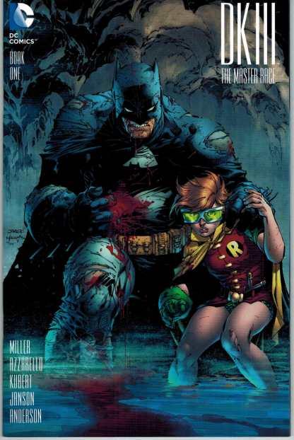 Dark Knight III Master Race #1 1:500 Jim Lee Variant DC 2015 DK3