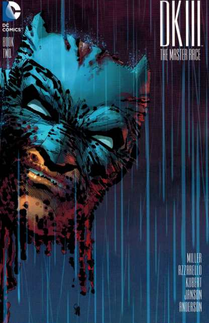 Dark Knight III the Master Race #2 1:100 Frank Miller Wrap Variant DK3 DC 2015