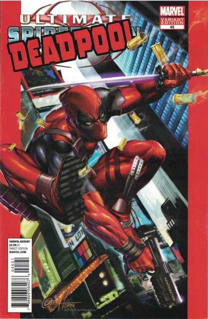 Deadpool #45 1:50 Greg Horn Marvel Comics 50th Anniversary Variant
