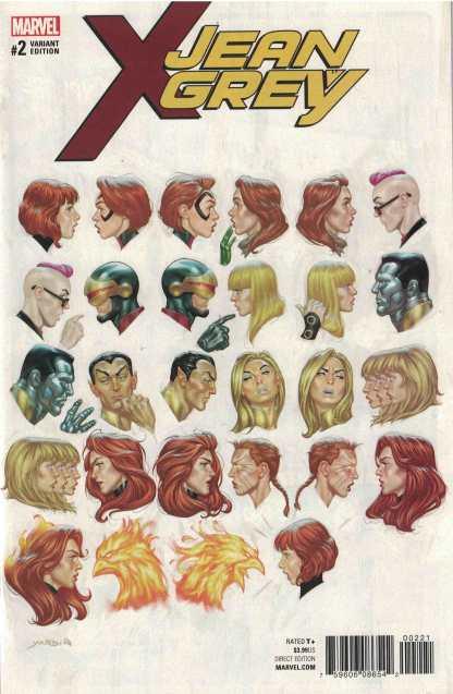 Jean Grey #2 1:25 David Yardin Variant Marvel 2017