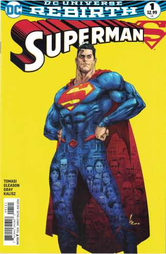 Superman #1 Kenneth Rocafort Variant 1st Print DC Rebirth 2017