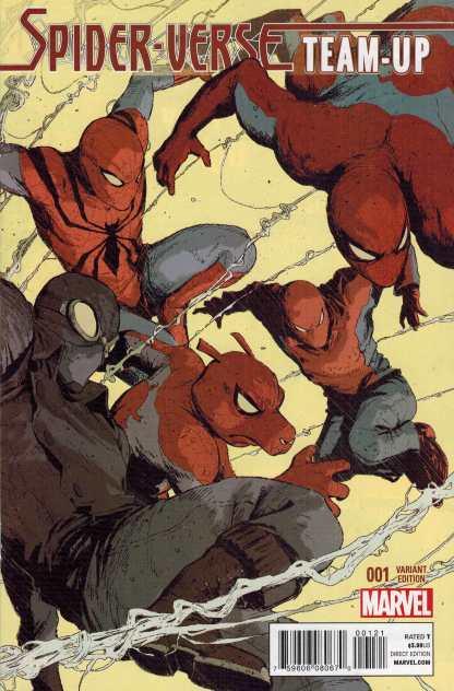Spider-Verse Team Up #1 1:25 Dave Rapoza Variant Marvel