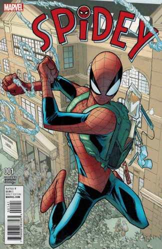 Spidey #1 1:25 Humberto Ramos Variant Marvel ANAD 2015 Spider-Man