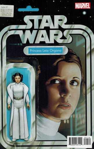 Princess Leia #1 Christopher Action Figure Variant Marvel Star Wars 2015