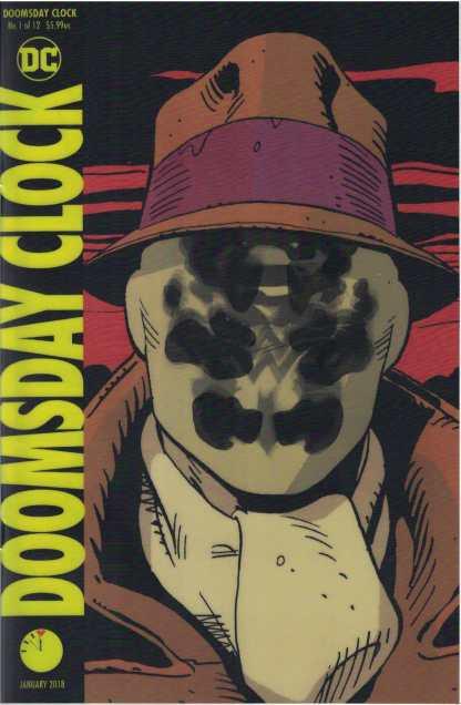 Doomsday Clock #1 Gary Frank Lenticular Variant DC 2017