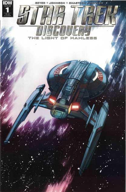 Star Trek Discovery #1 1:25 Declan Shalvey, Jordie Bellaire Variant IDW 2017
