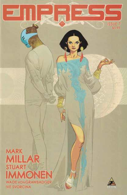Empress #7 1:25 Stuart Immonen Variant Marvel Icon 2016 Mark Millar