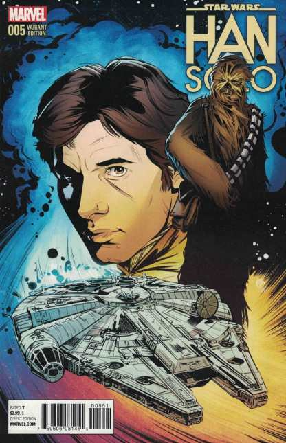 Star Wars Han Solo #5 1:25 Joelle Jones Variant Marvel 2016