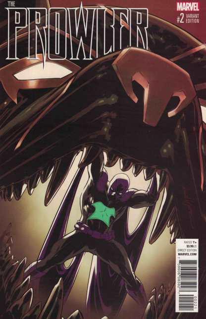Prowler #2 1:25 David Lopez Variant Marvel 2016