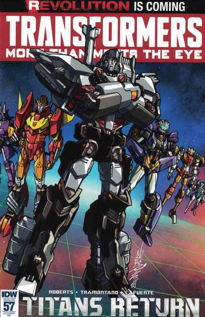 Transformers More Than Meets the Eye #57 1:10 Retailer Incentive Variant RI IDW