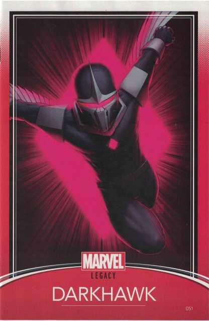 Darkhawk #51 John Tyler Christopher Trading Card Variant Marvel Legacy