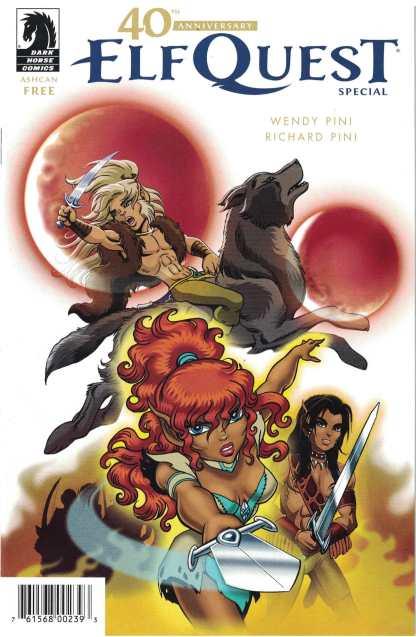 Elfquest 40th Anniversary Ashcan Dark Horse Comics 2017