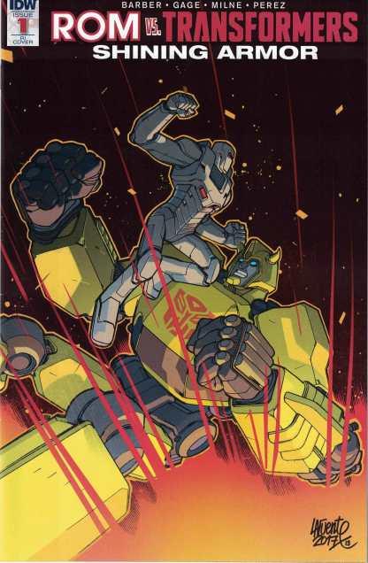 Rom Vs Transformers Shining Armor #1 1:10 David Lafuente Variant IDW 2017