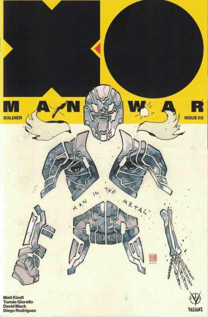 X-O Manowar #3 1:50 David Mack Icon Valiant Variant 2017