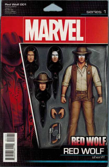 Red Wolf #1 Christopher Action Figure Variant Marvel ANAD 2015