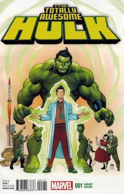 Totally Awesome Hulk #1 1:25 Frank Cho Variant Marvel ANAD 2015