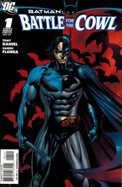 Batman Battle for the Cowl #1 Tony Daniel Nightwing Variant DC 2009