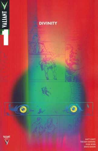 Divinity #1 Trevor Hairsine 1:10 Valiant NEXT Variant