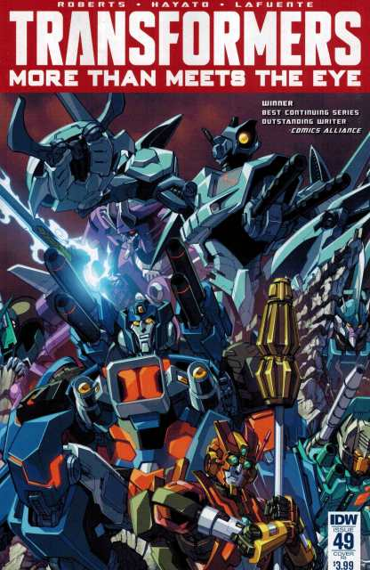 Transformers More Than Meets the Eye #49 1:10 Retailer Incentive Variant RI