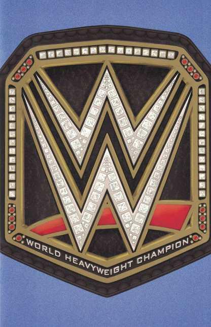WWE #2 World Championship Belt Foil Gatefold Party Variant Boom Studios 2017
